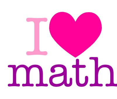 I Love Math Clipart Dromgil Top
