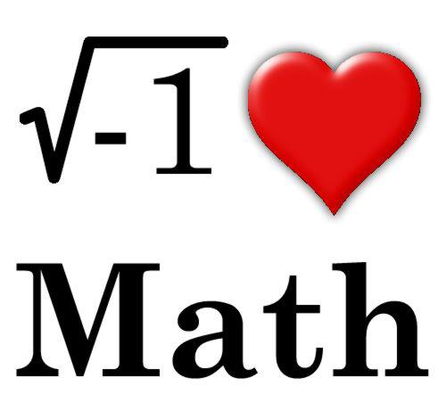 I Love Math Clipart