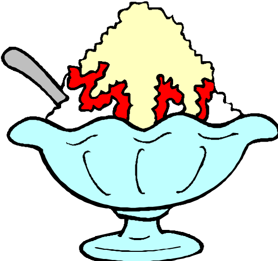 Best Ice Cream Bowl Clipart #29375 - Clipartion.com