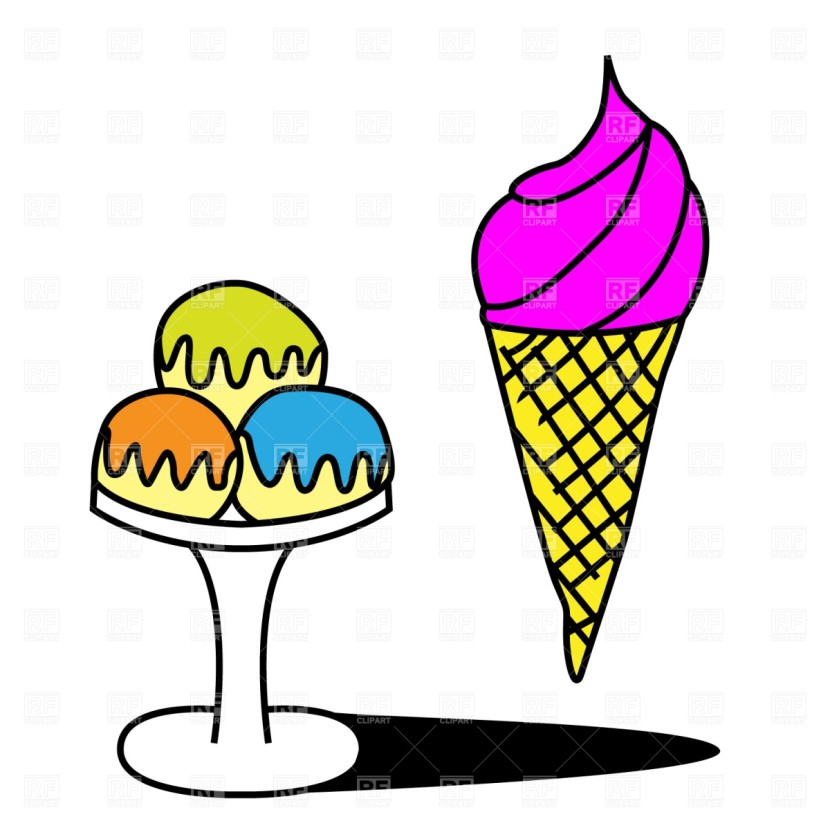 Ice Cream Cup Clipart Dromgil Top