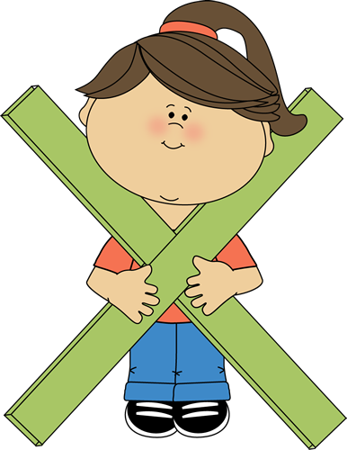 Kid Standing Behind Math Multiplication Symbol Kid