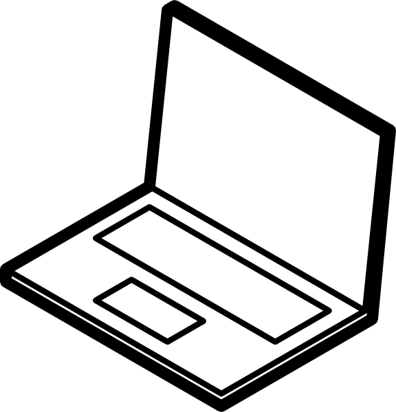 Laptop Computer Clipart