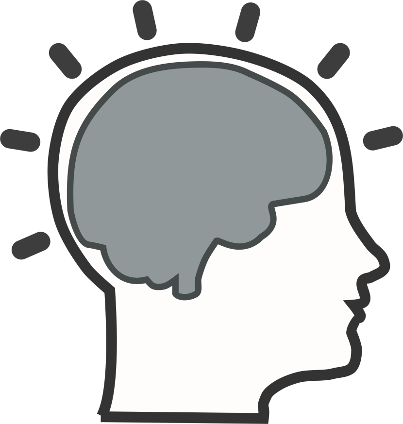 Learning Brain Clipart