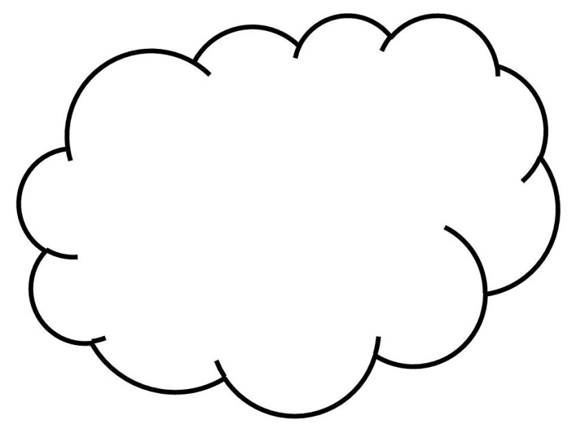 Line Drawing Clouds