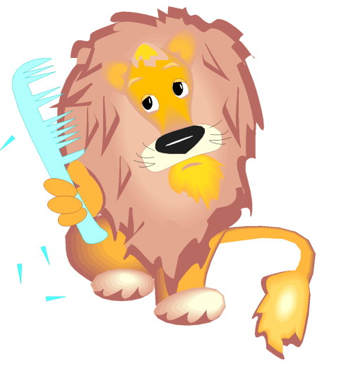 Lion Clipart for Kids