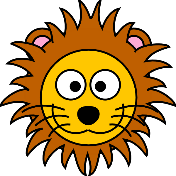 Lion Head Clipart For Kids Dromgip Top