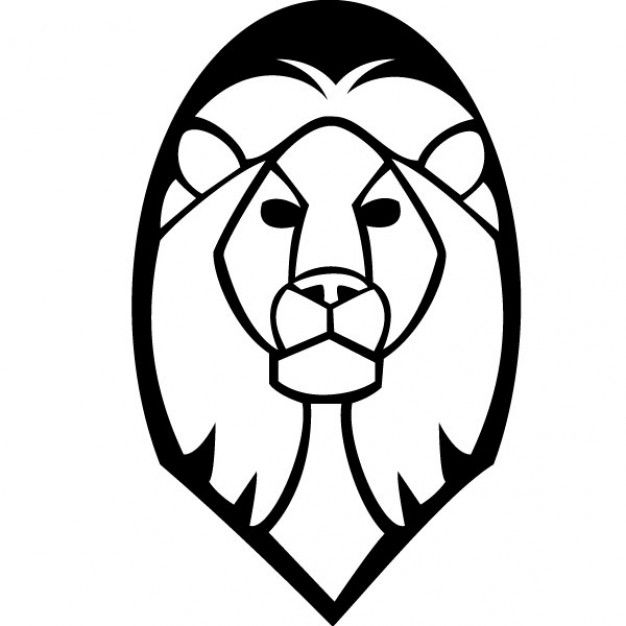 Lion Head Vector We Are The Mighty Lions