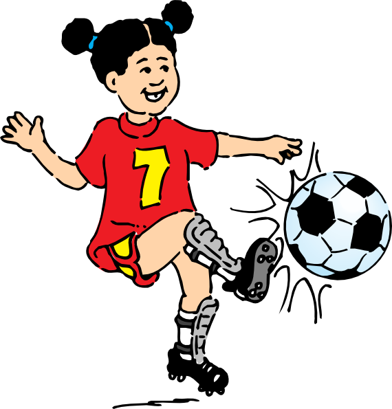Mean Football Player Clipart Free