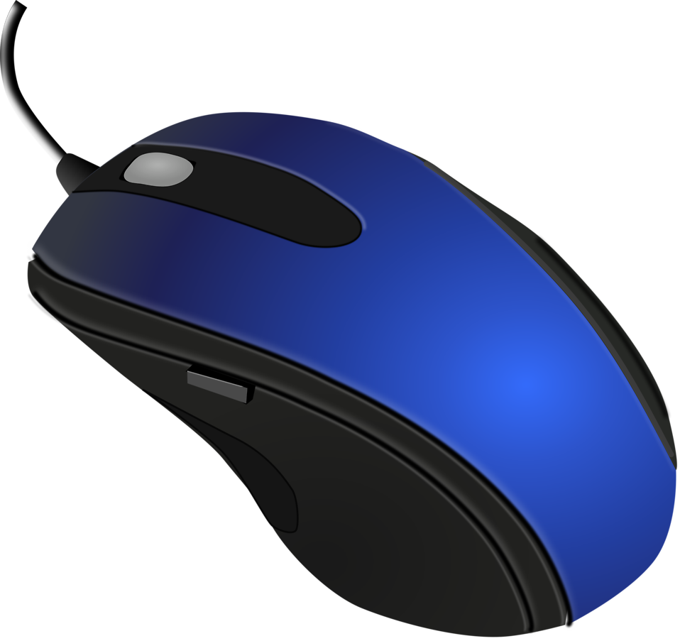 Mouse Computers Free Illustration Of A Blue