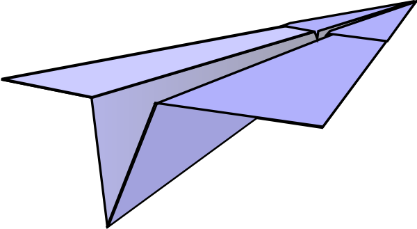 Paper Airplane At Vector Online
