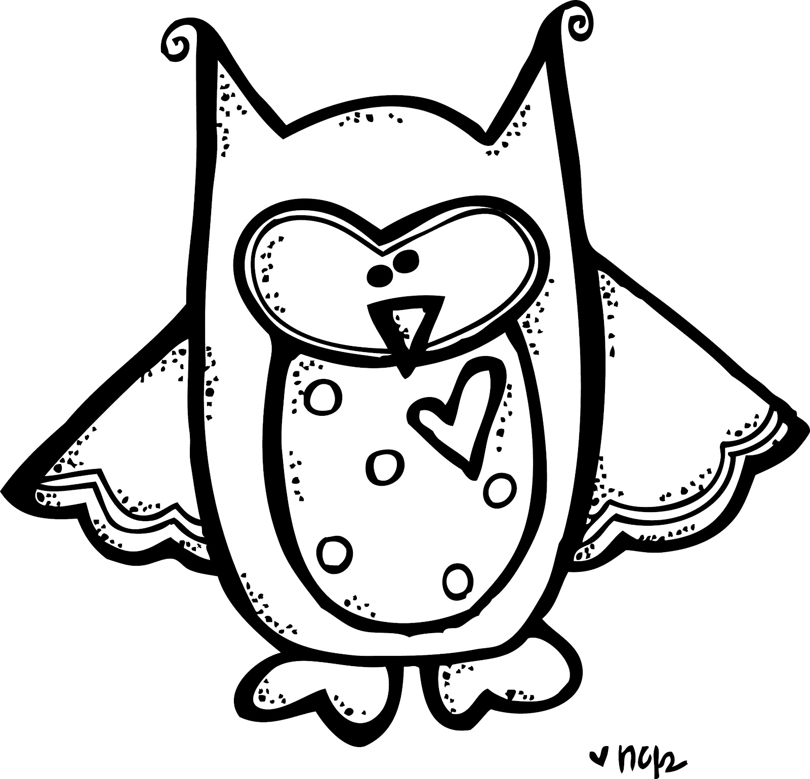 Best Owl Clipart Black and White #28309 - Clipartion.com