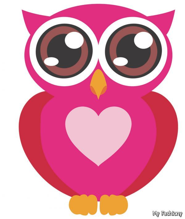 Pink And Brown Owl 5 6 Myfashiony