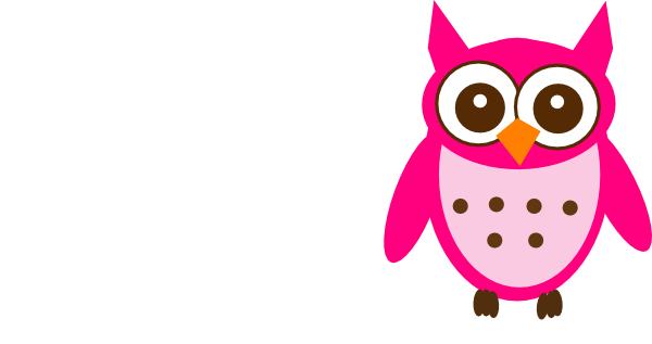 Pink And Brown Owl Vector Online Free