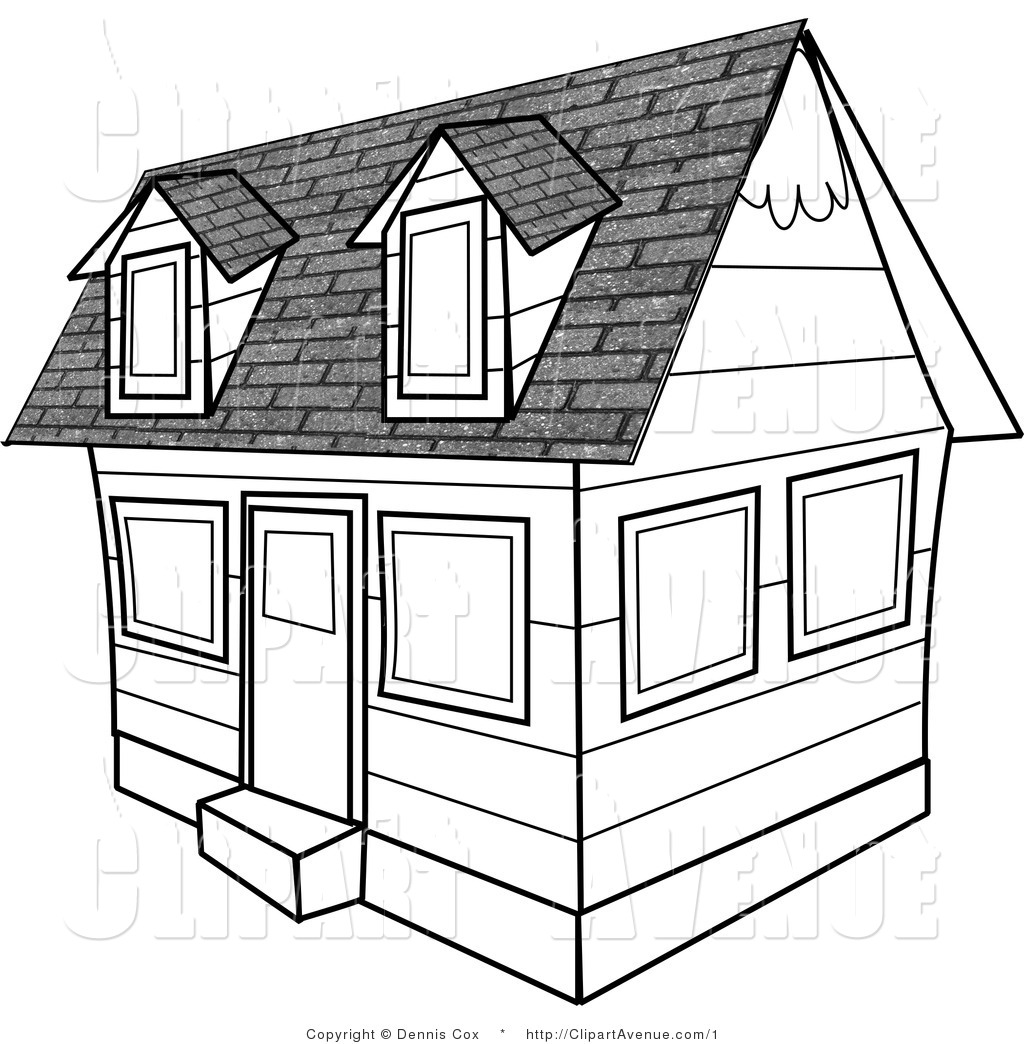 Best School Building Clipart Black and White #28779 ...