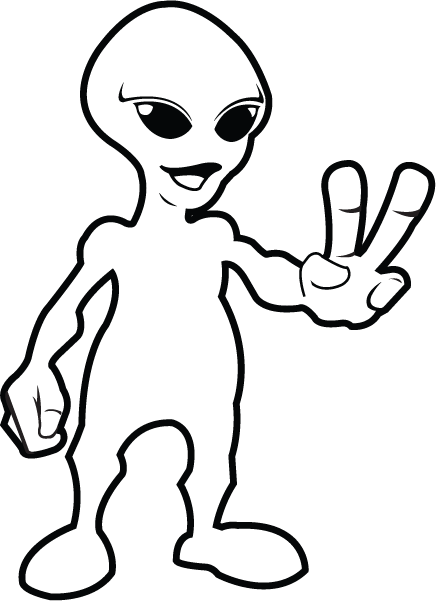 Science Clipart Black and White