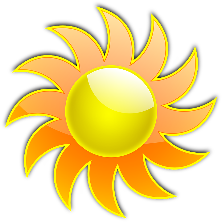 Sunlight Clipart Illustrations