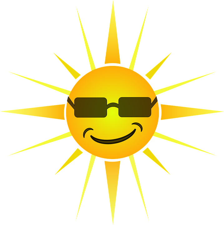 Sunshine Clipart Vector Graphics