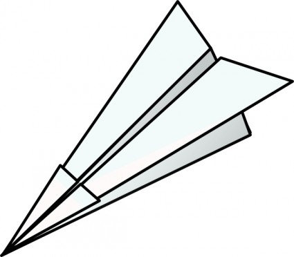 Toy Paper Plane Free Vector In Open Office Drawing