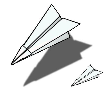 Best Paper Airplane Clipart 28560 Clipartion Com