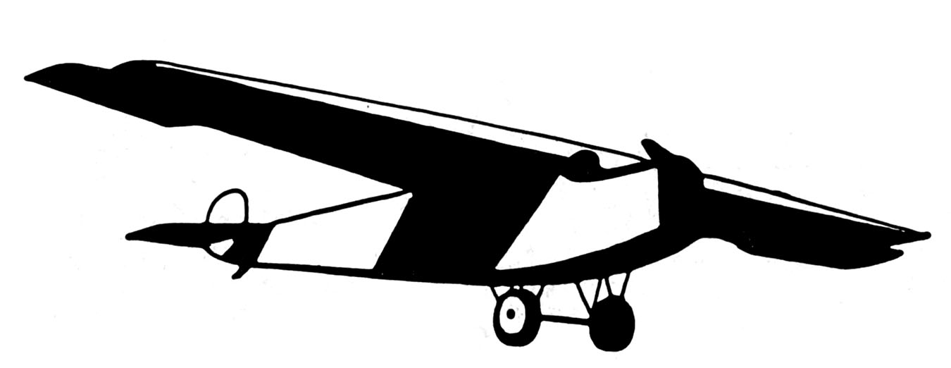 Vintage Black And White Airplanes The Graphics Fairy