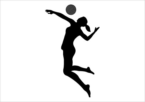 Best Volleyball Spike Clipart #28343 - Clipartion.com