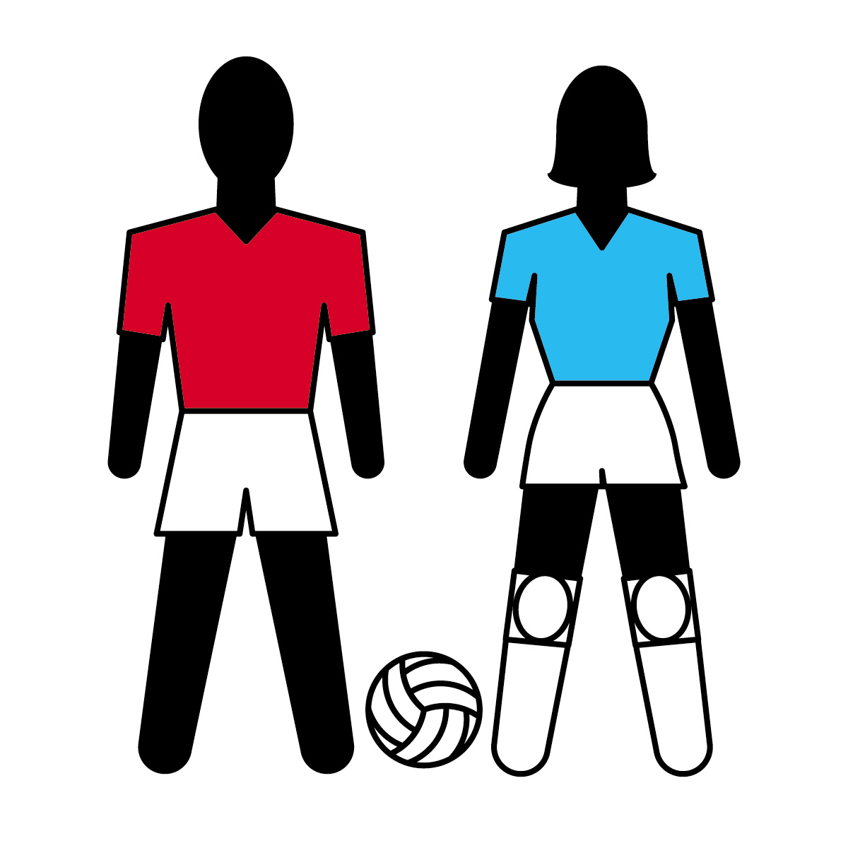Best Volleyball Player Clipart #28366 - Clipartion.com