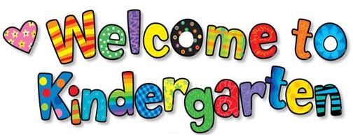 Welcome To Kindergarten Clipart Free