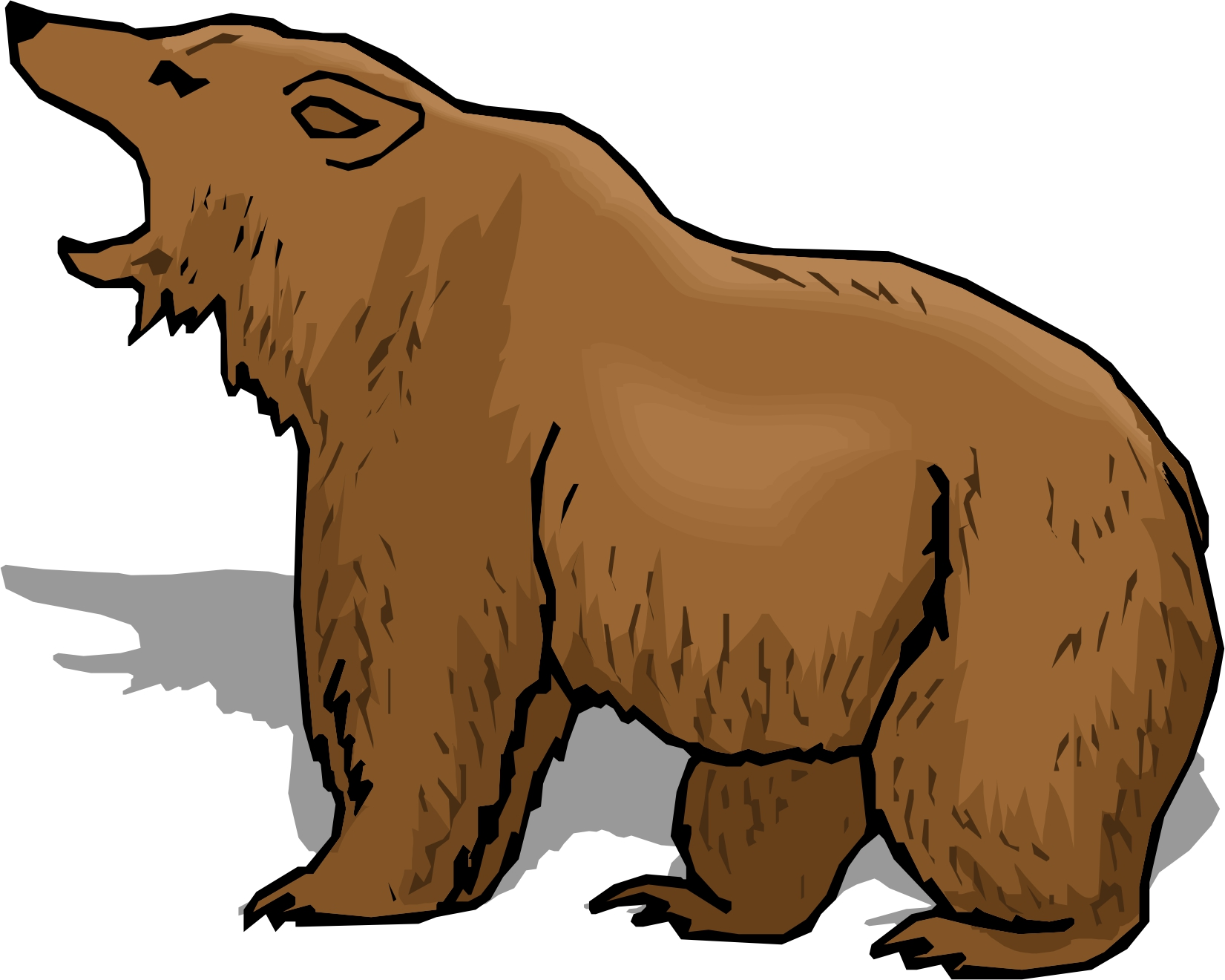 Bear angry. Best clipart clipartion com