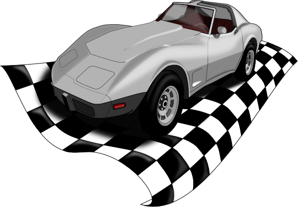 Corvette Clipart Free Race