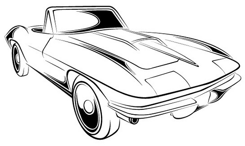 Corvette Zr1 Clipart Corvette Logo