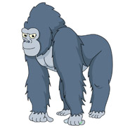 Free Gorilla Clipart Graphics Illustrations
