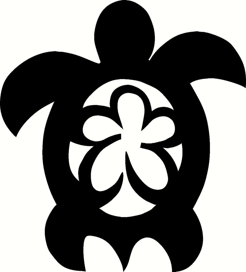 Free Hawaiian Turtle The Art Graphics