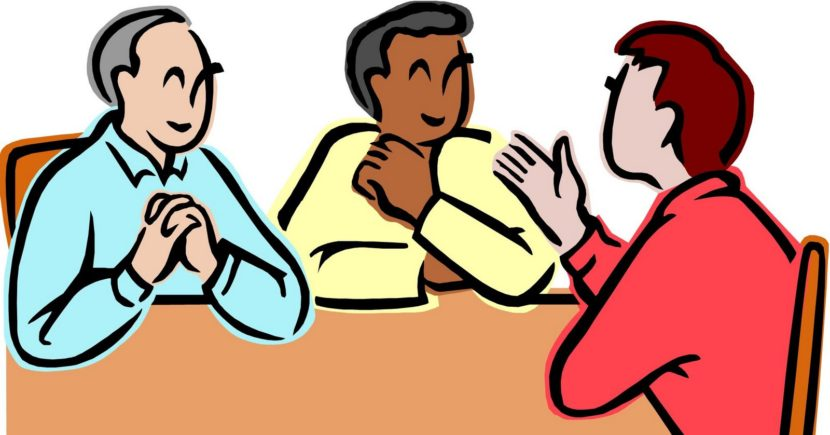 Group Conversation Clipart