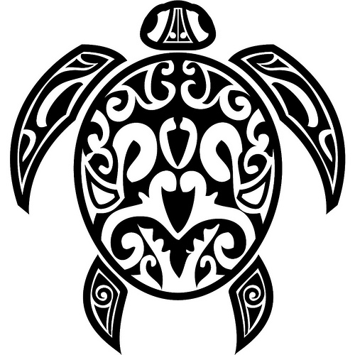 Hawaiian Sea Turtle Clipart Free