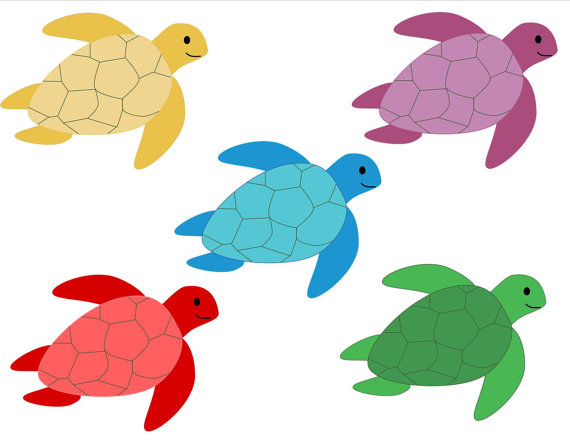 Hawaiian Turtle Clipart