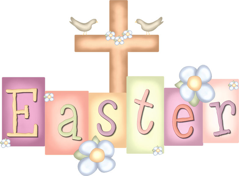 Cute Religious Easter Clipart
