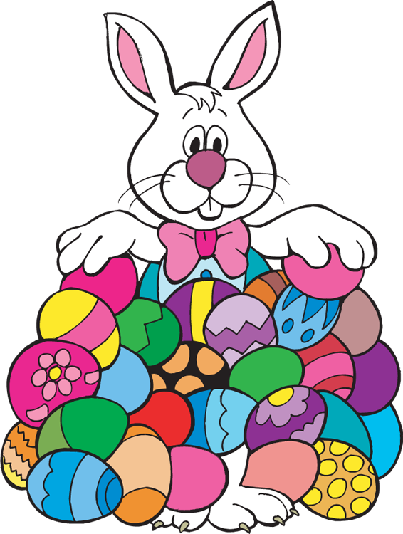 Free Easter Bunny Images Clipart Coloring Pages