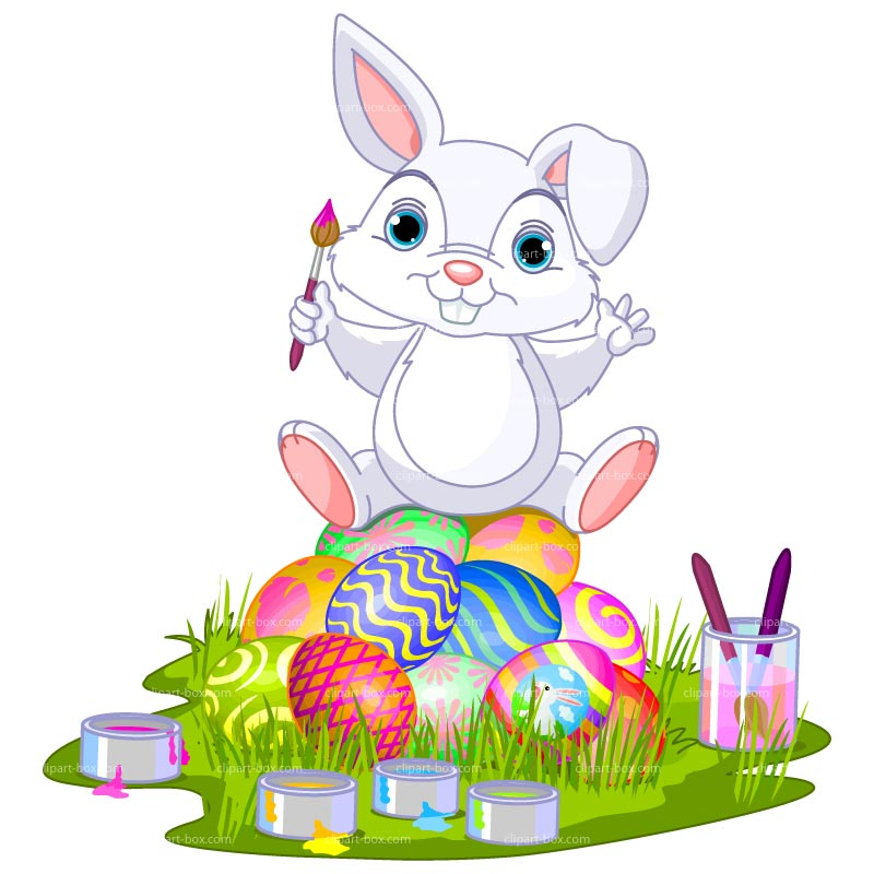 Funny Easter Bunny Clipart