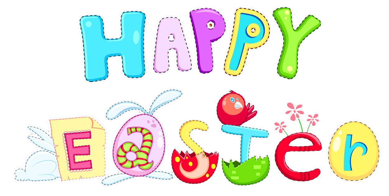 Happy Easter Clipart Clipart Free Download