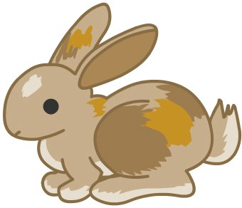 Rabbit And Bunny Clipart