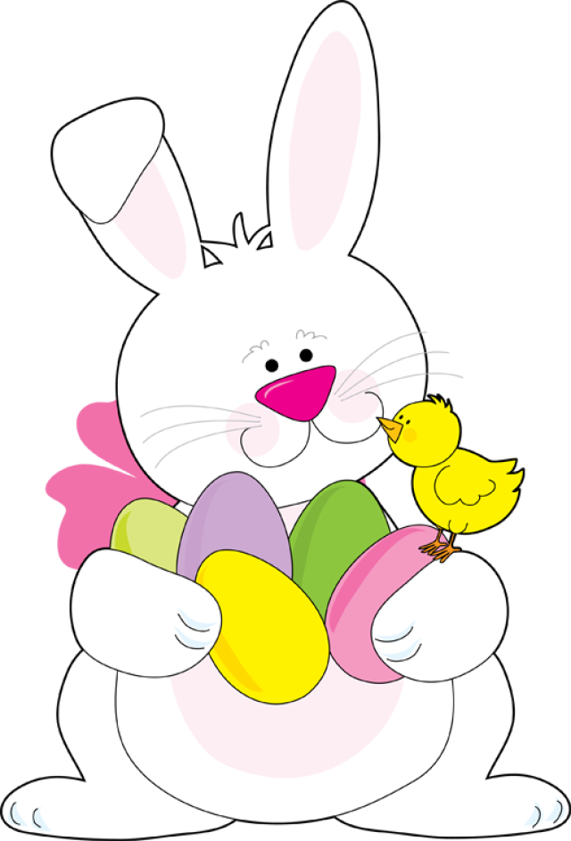 Vector And Funny Easter Bunny Clipart Favorite