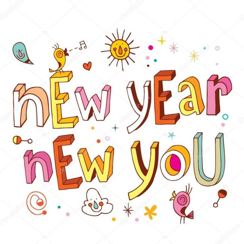 Download New Year Clipart New Year Illustration Text