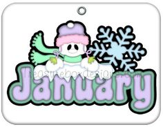 Free Month Of January Snowman Image 3 Clipartix