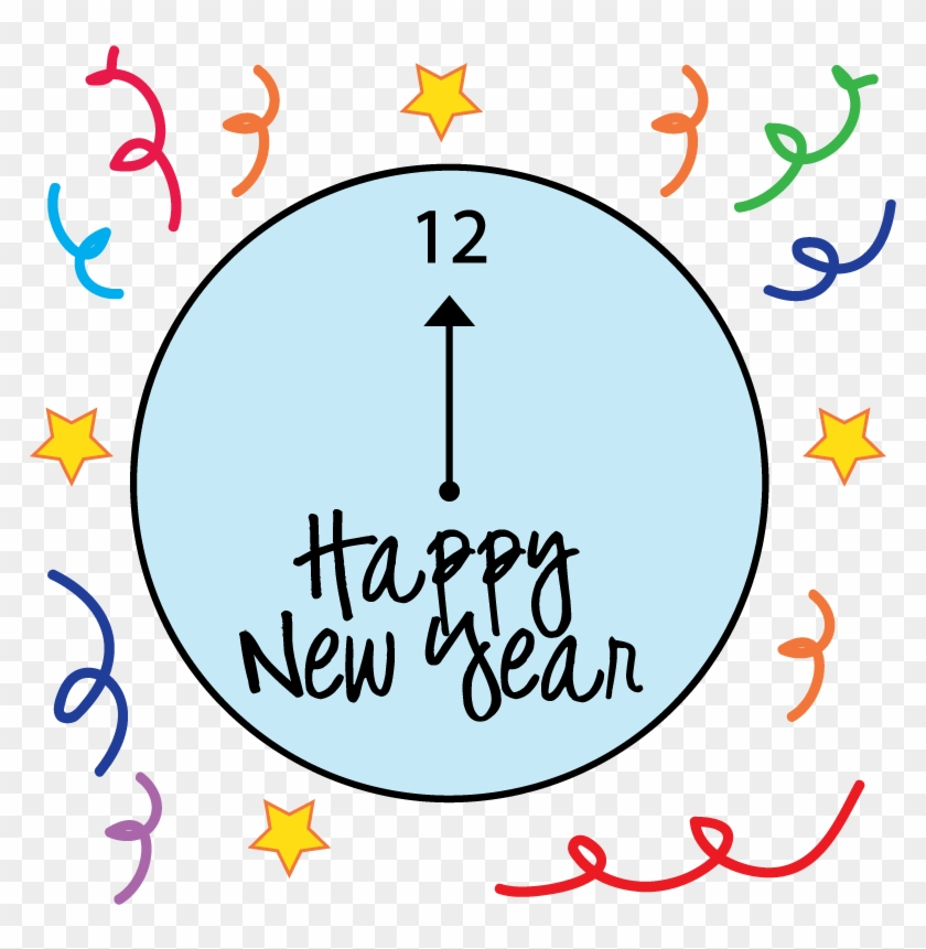 Free New Years Clipart Happy New Year Black And White 8 Free