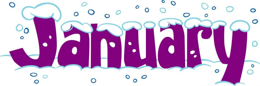 January Clipart Header Download On Mbtskoudsalg December