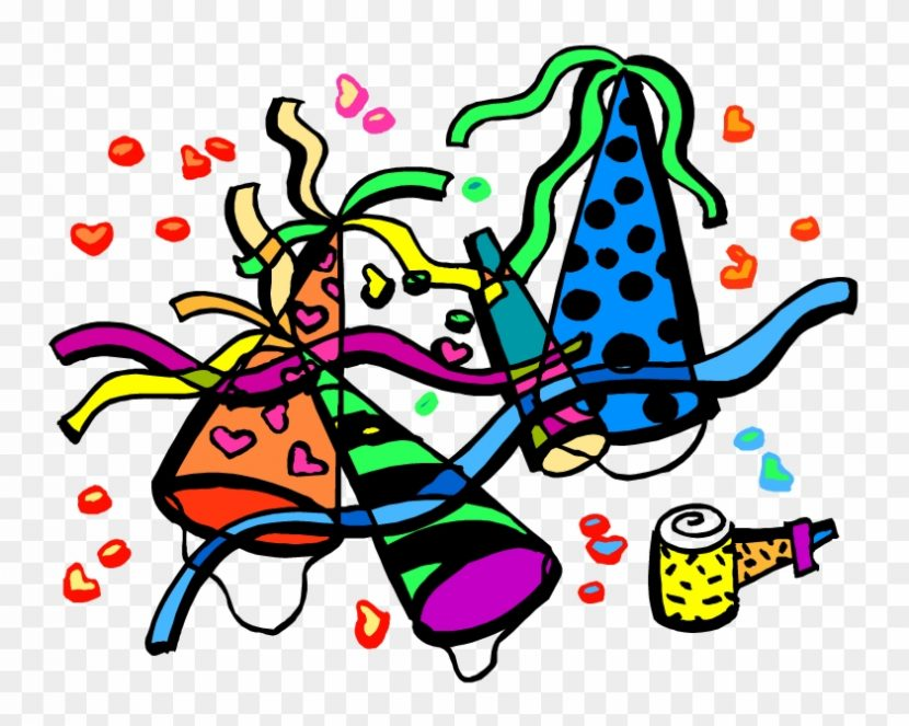 January Clipart Party Cartoon Free Transparent Png