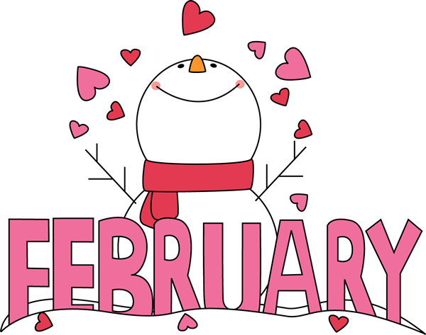 February Month Of February Snowman Love