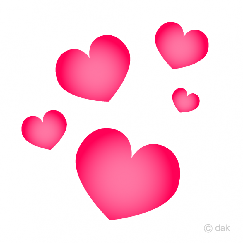 Free Floating Heart Clipart Images