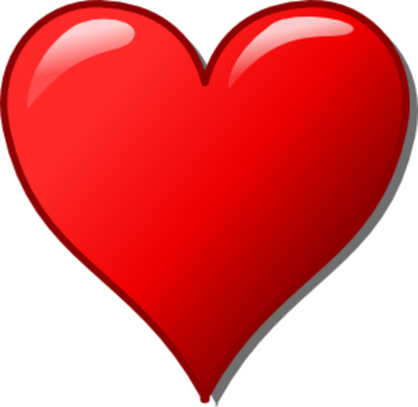 Free Heart Heart Clipart Image Vector