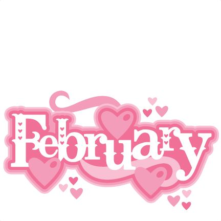 Library Of Hello February Vector Freeuse Stock Png Files